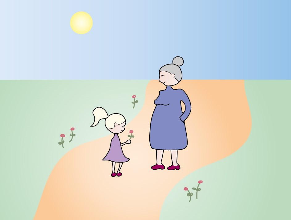 Barnbarns betydelse för mor- och farföräldrars välbefinnande